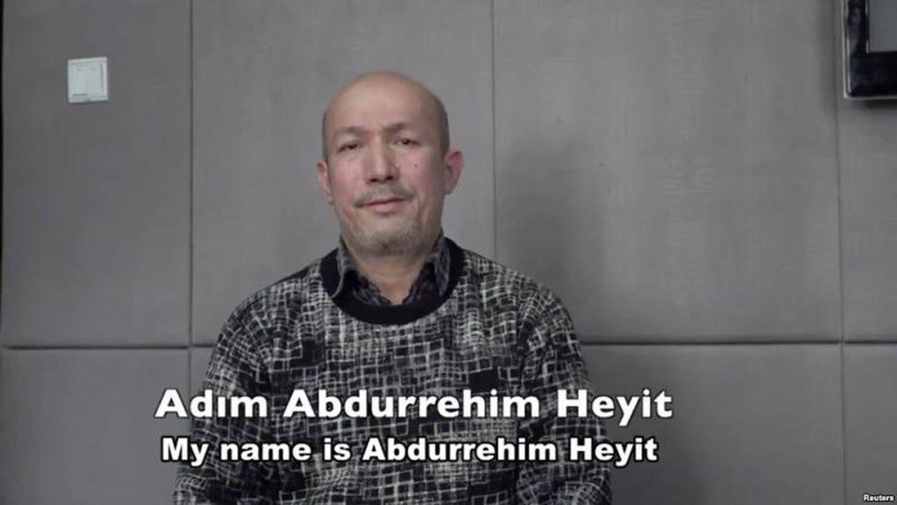 維吾爾音樂家阿不都日衣木·艾衣提(Abdurehim Heyit,前譯黑伊特)。...