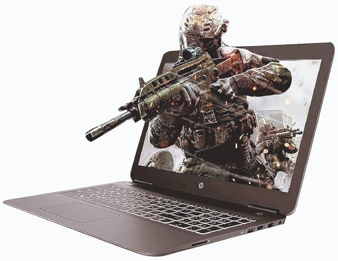 HP 15.6吋高效能電競筆電15-bc411TX。 燦坤/提供