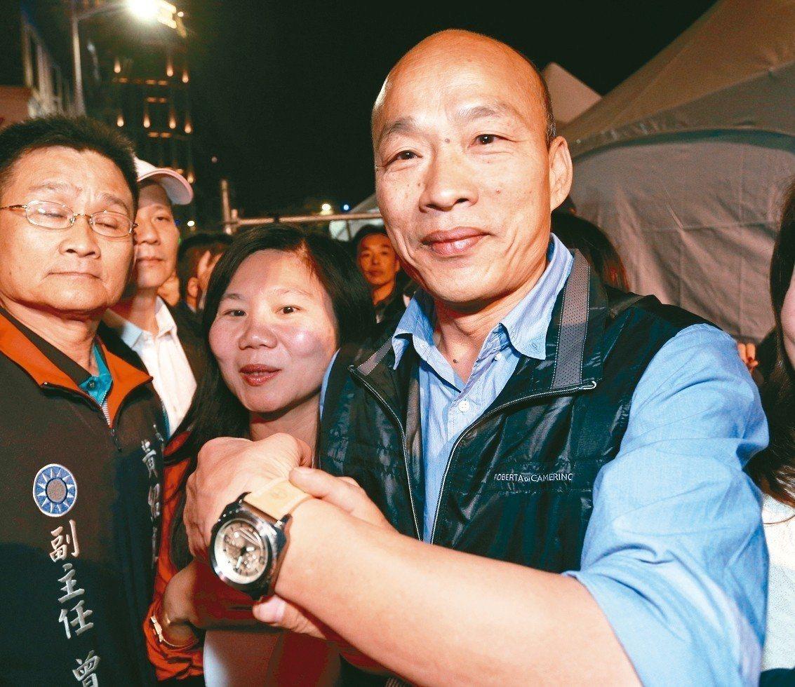 高雄市長韓國瑜。 圖/聯合報系資料照片 張世杰