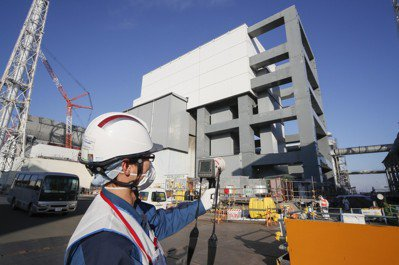 日本福島核電廠。圖/歐新社