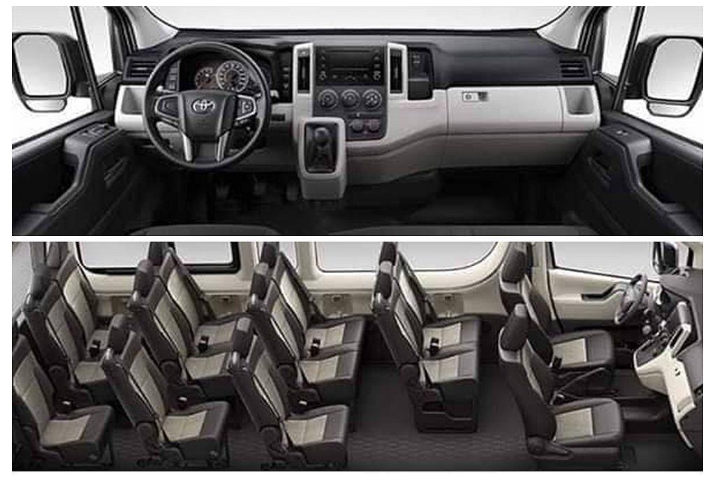 更科技化的內裝與多功能方向盤導入,同時長軸車型更具備13個座位(台灣法令最多只能...