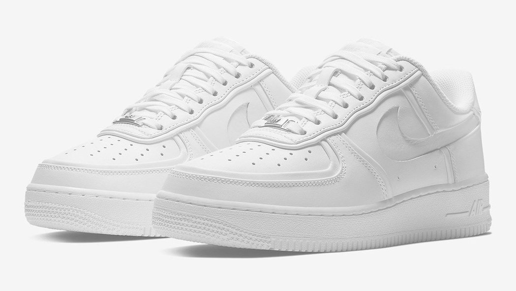 Nike Air Force 1。 摘自carscoops