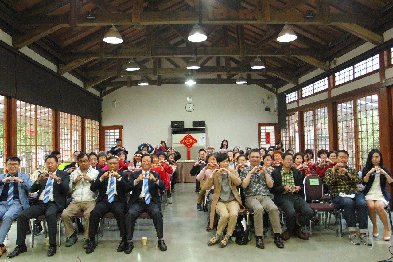 與會聽眾共同響應愛護台灣綠生活。 有故事/提供
