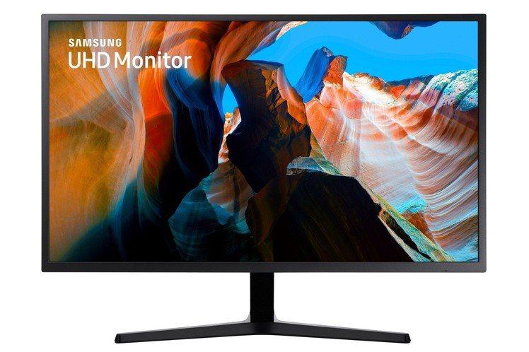 三星32吋4K顯示器U32J590,建議售價12,900元。圖/三星提供