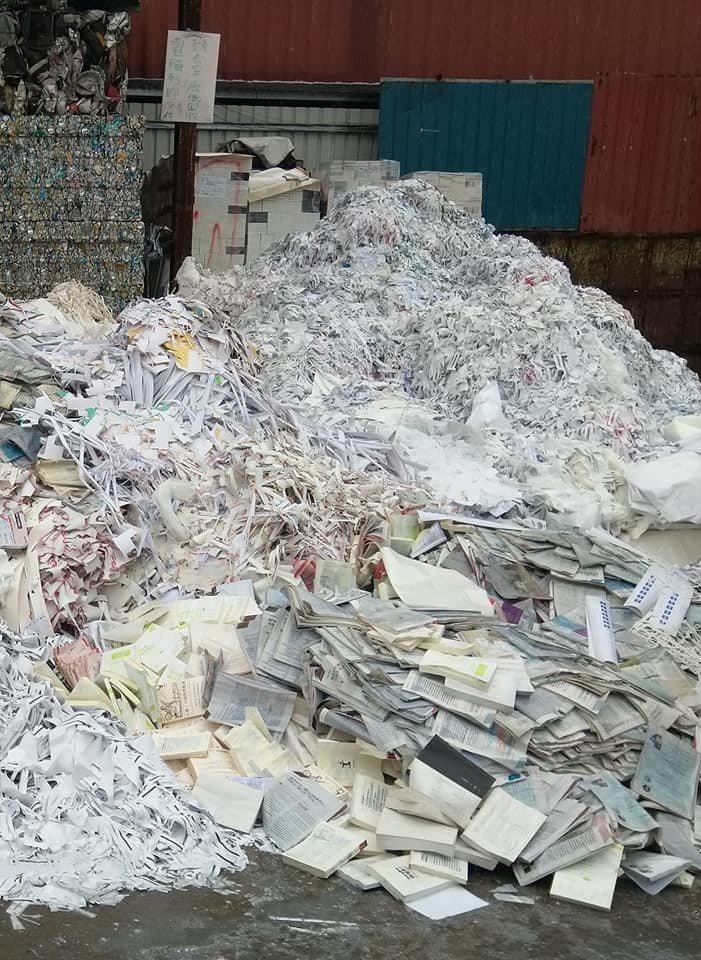 回收場處理書。圖/李赫提供