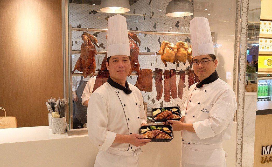 六福旗下六福客棧便當進軍微風南山,以店中店進駐信義計畫區。圖 /六福集團提供