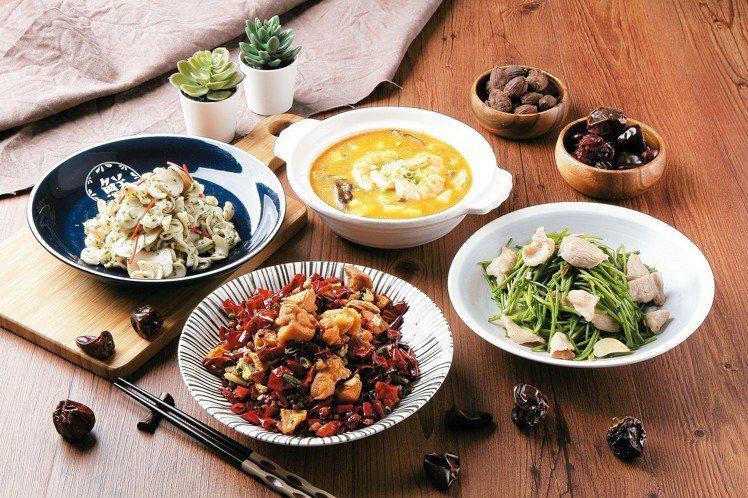 歡慶西洋情人節,14日起南紡購物中心集結館內多家餐廳,推出新菜及甜蜜優惠。圖/南...