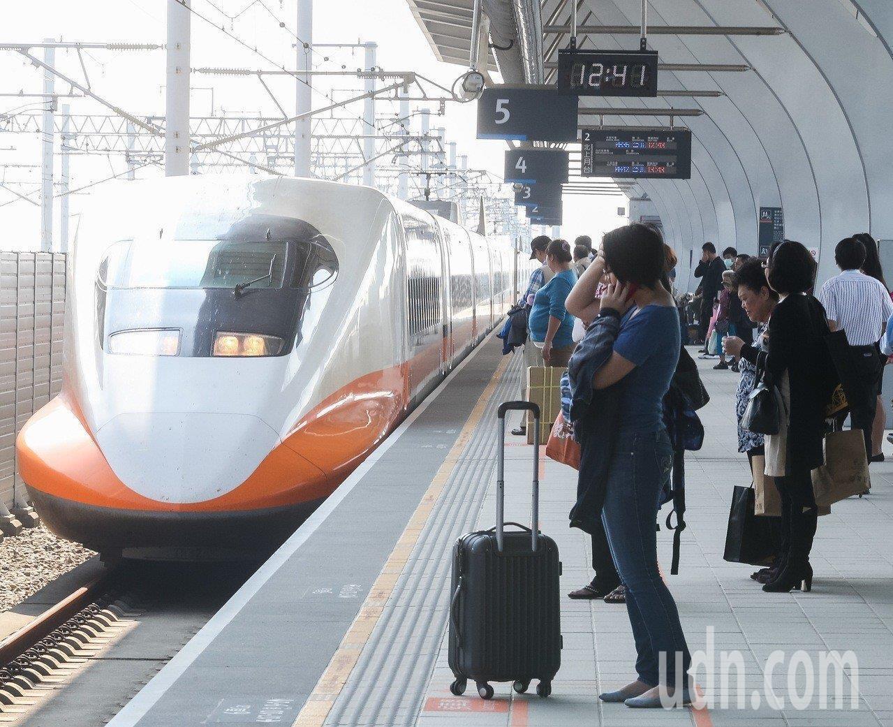 台灣高鐵。圖/聯合報系資料照