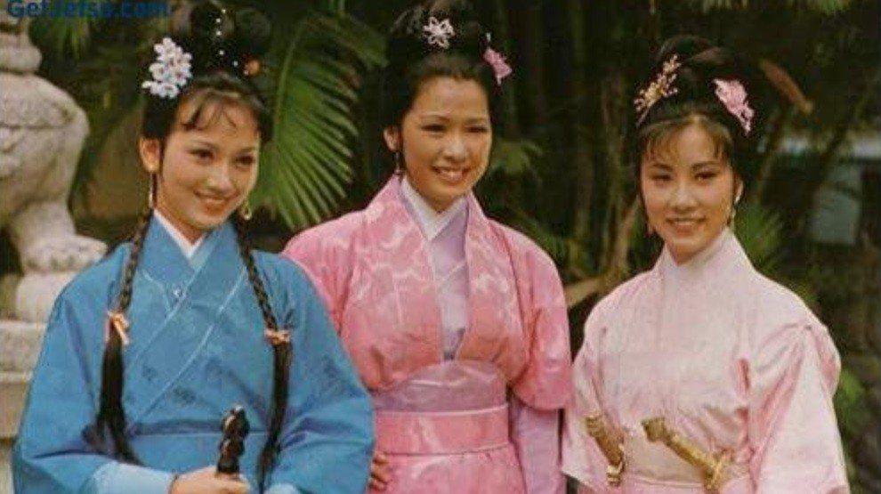趙雅芝(左起)、黃淑儀、汪明荃40年前合作「倚天屠龍記」傳出一堆恩怨。圖/報系資...