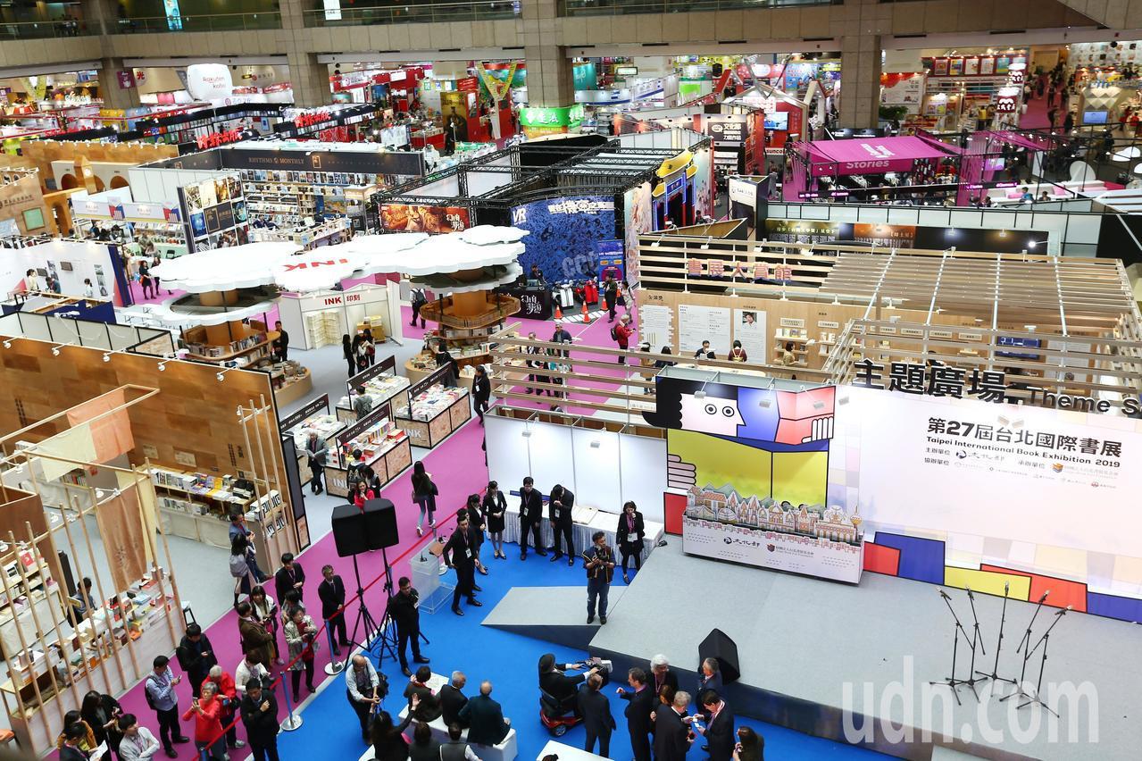 第27屆台北國際書展上午在世貿展場開幕。記者杜建重/攝影