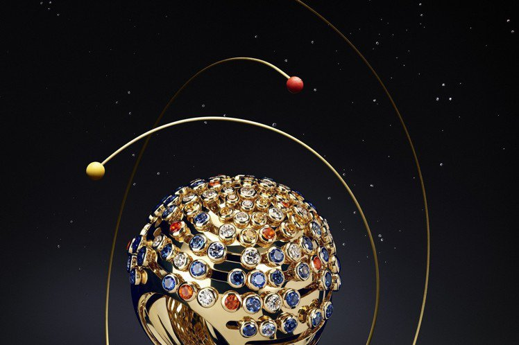 LES GALAXIES DE CARTIER 系列 GALAXIES 戒指,黃...