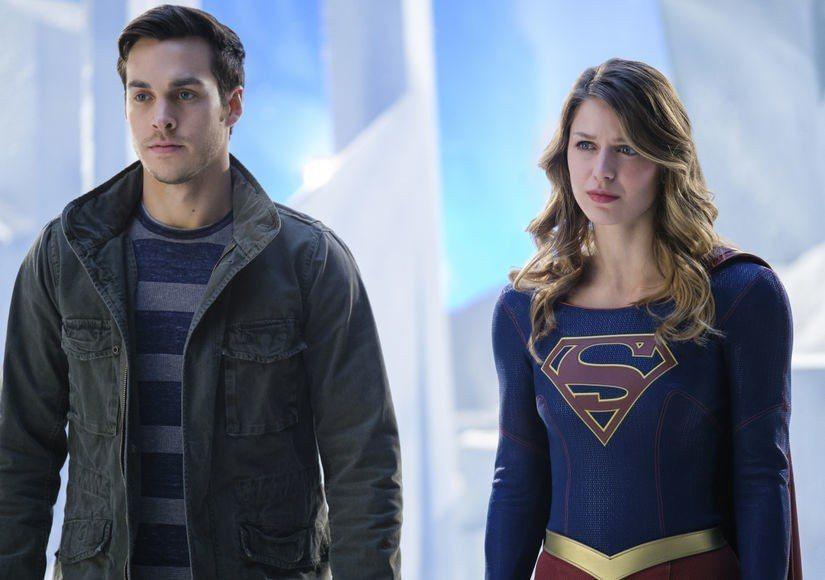 克里斯伍德與梅莉莎班諾伊因合作「女超人」結緣。圖/摘自imdb