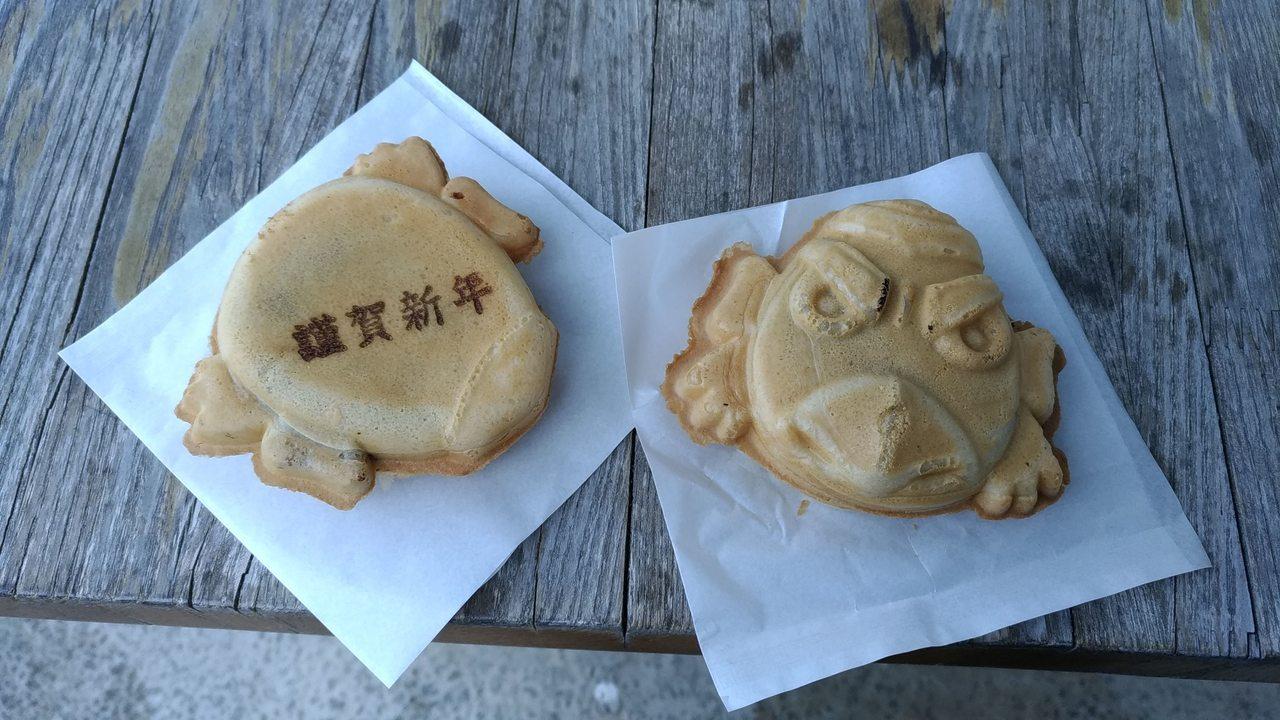 天狗燒是東京高尾山的必吃美食。記者楊德宜/攝影