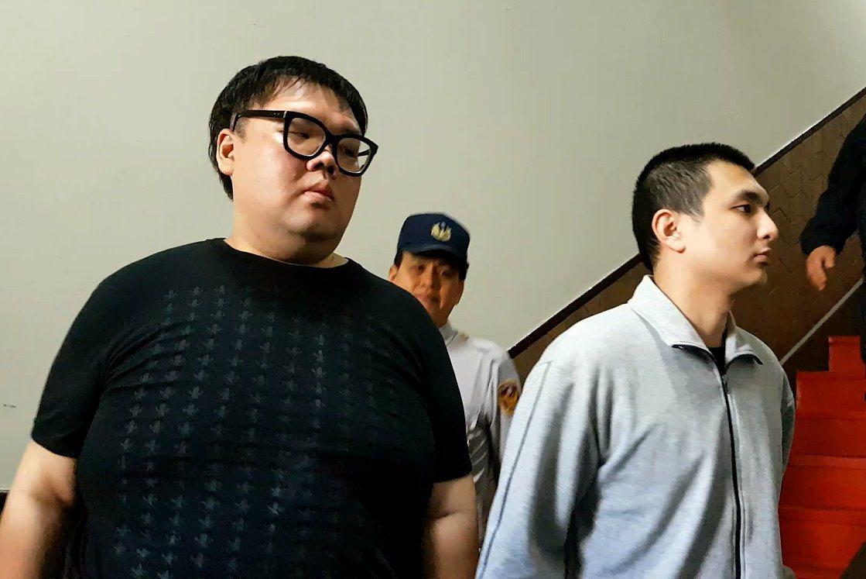 涉W飯店命案的朱家龍(左)與聖晏(右)仍在羈押中,他們表示有和死者家屬和解的意願...