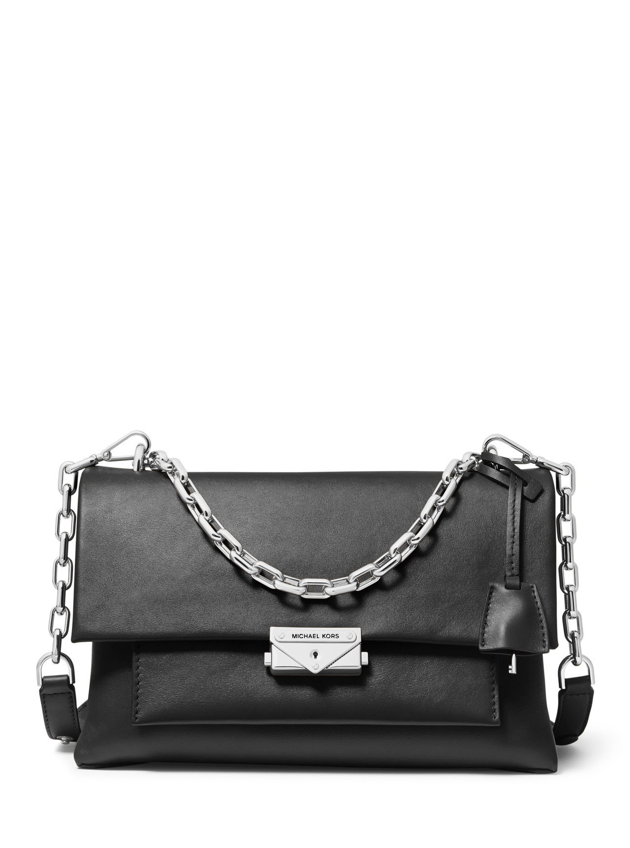 CECE黑色大型鍊包,售價18700元。圖/MICHAEL KORS提供