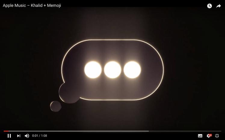 雖然主題是Apple Music與Memoji,但影片內容似乎偷偷洩漏了新機設計...
