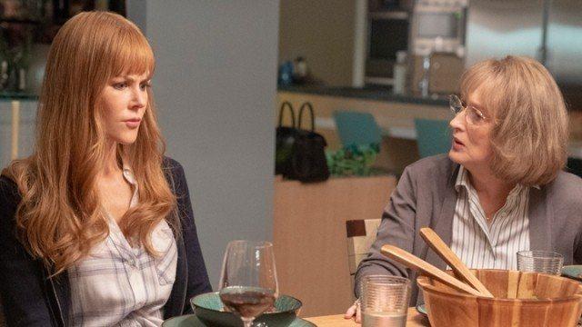 妮可基嫚與梅莉史翠普在HBO影集「美麗心計」第2季中飾演暗潮洶湧的媳婦與婆婆。圖...