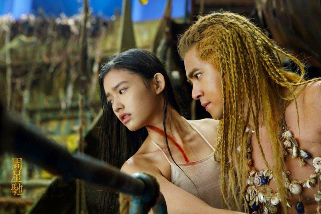 周星馳「美人魚」台灣收視率開出紅盤。圖/衛視電影台提供