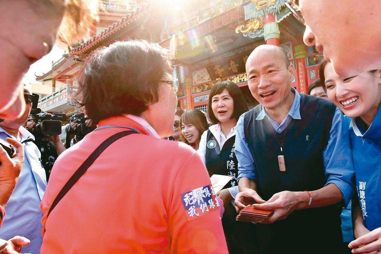 高市長韓國瑜昨天證實,在二月底訪星馬後,預計三月訪大陸南方城市。 圖/高市府提供