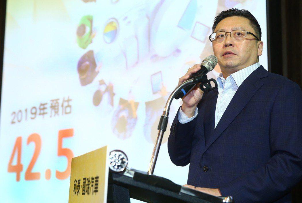 和泰汽車總經理蘇純興