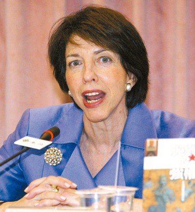 美國前副助理國務卿謝淑麗。 圖/聯合報系資料照片