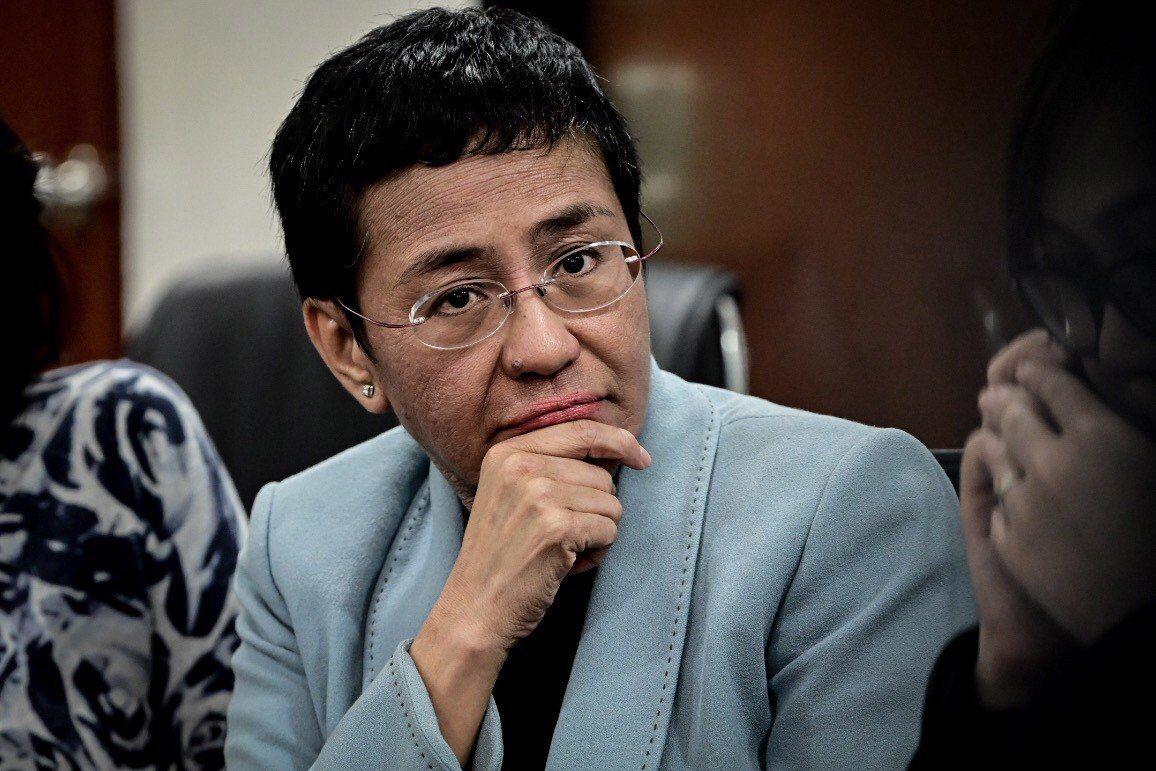 菲律賓資深記者瑞薩(Maria Ressa)。 歐新社