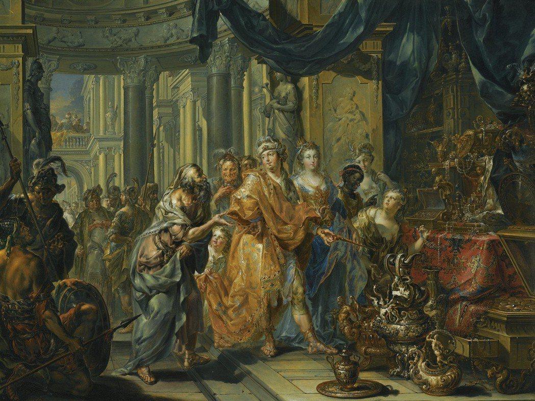 「哲學」這個詞最早出現時被用來稱述的是雅典政治改革家梭倫(圖左)。他在受政敵逼迫...