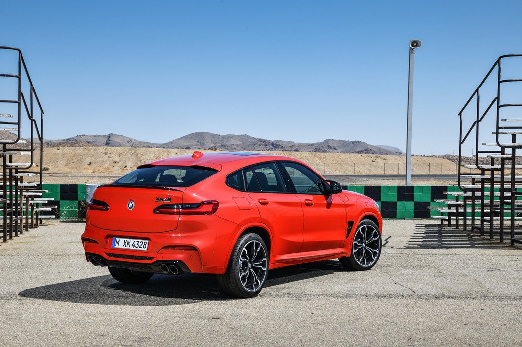 圖為BMW X4 M Competition。 摘自BMW