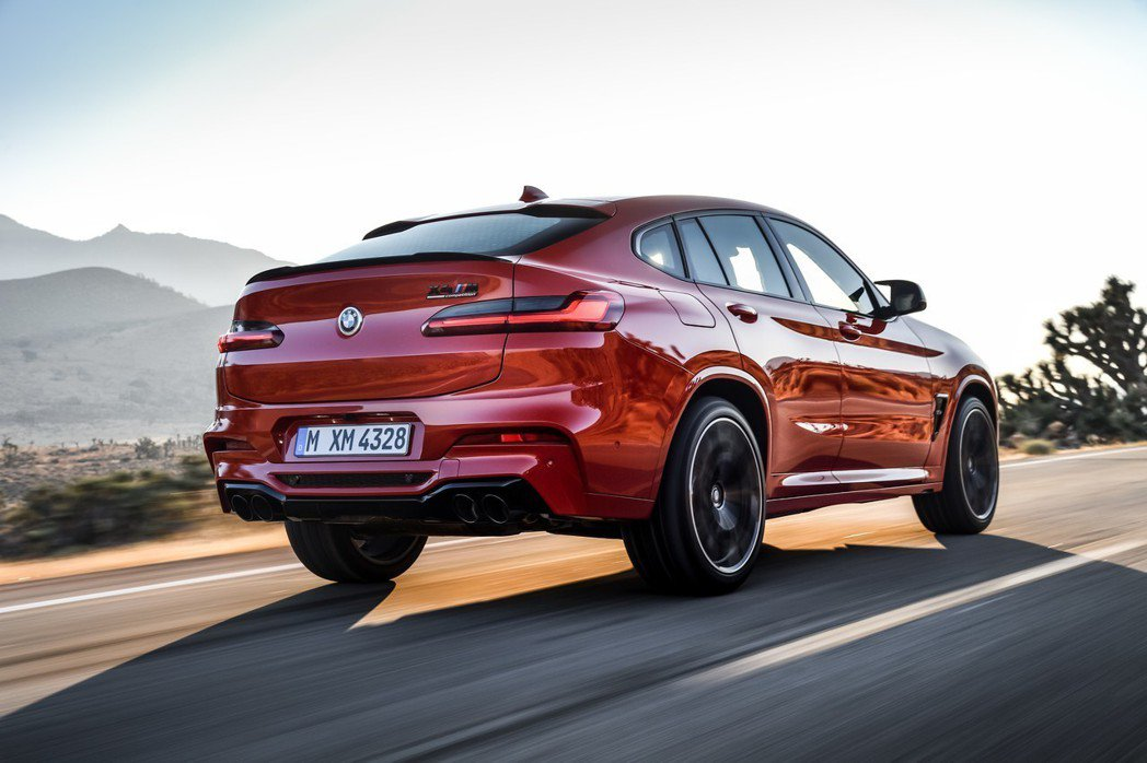 全新BMW X4 M Competition最大馬力可輸出510hp! 摘自BM...