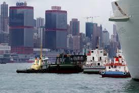香港執法不足以杜絕該地走私轉運的歪風,成為暴徒發財的天堂。(photo by 網...