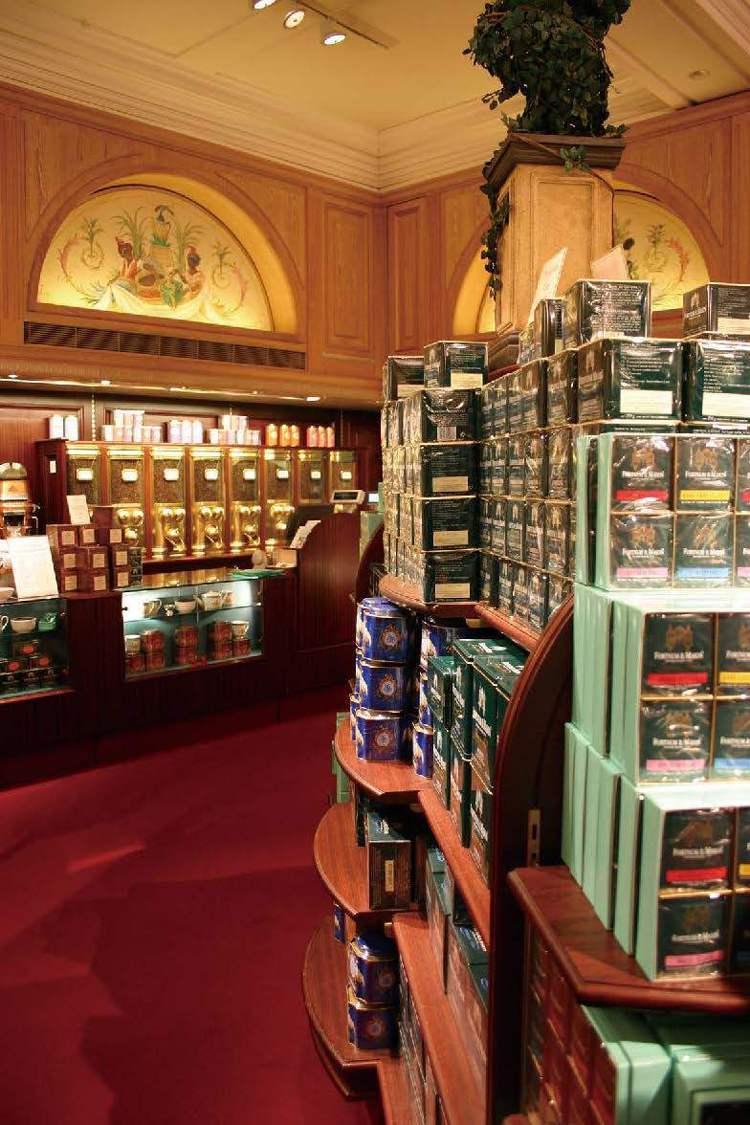 Fortnum & Mason,創立於1707年,有多款老饕喜愛的混合調配茶。圖...