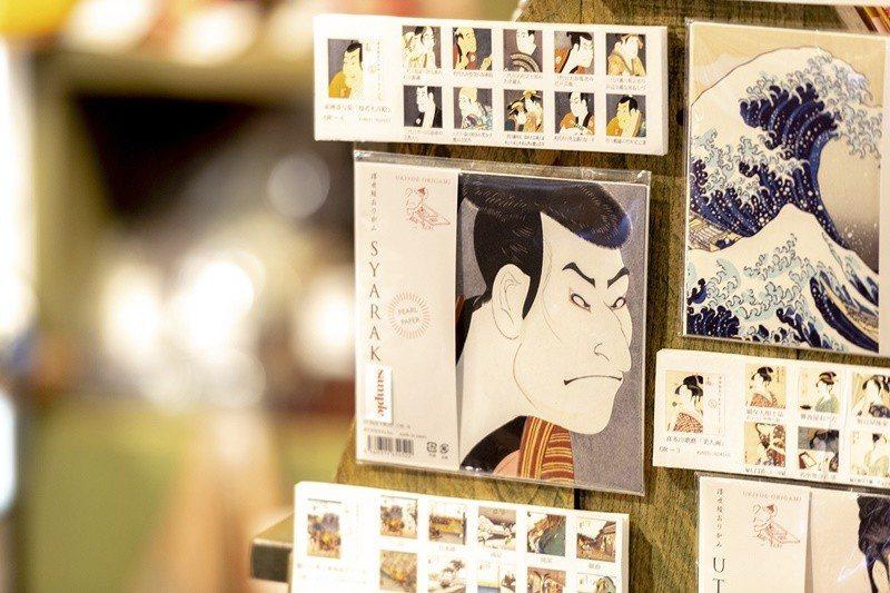日本傳統藝術代表「浮世繪」。