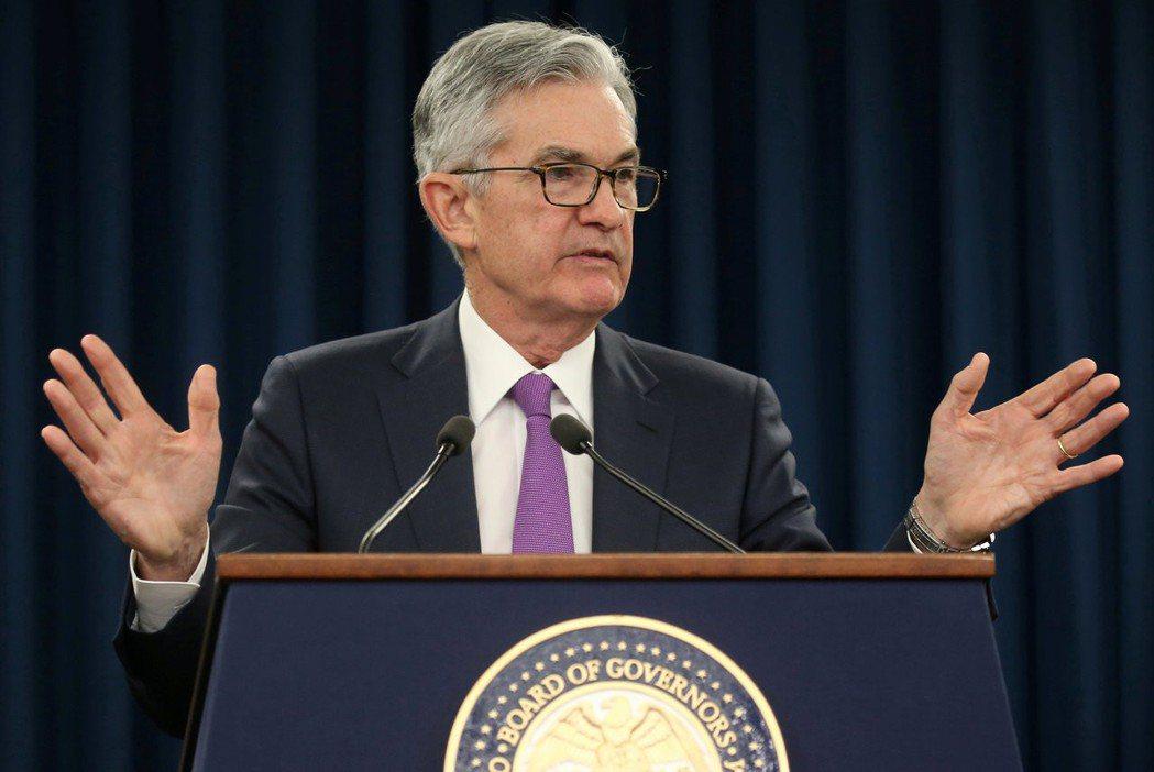 Fed主席鮑爾。 路透