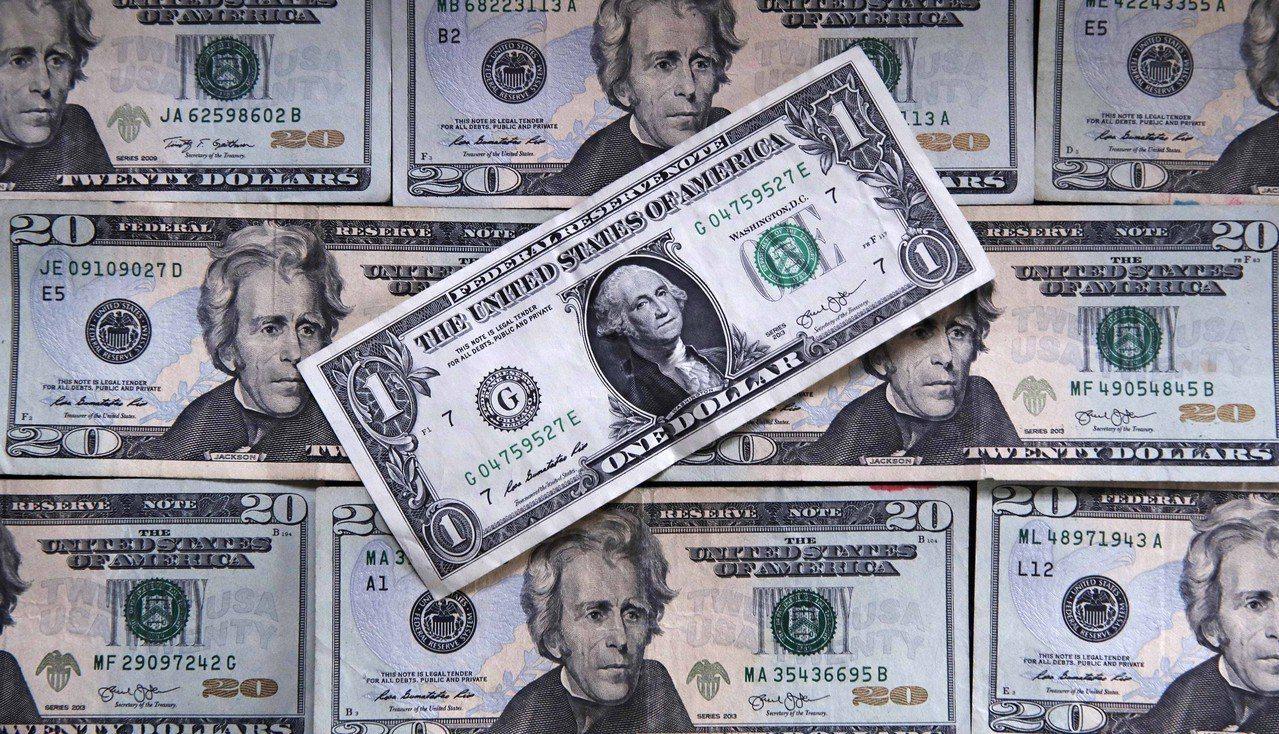根據美國財政部12日公布的報告,美國國債已達到22.01兆美元。美聯社