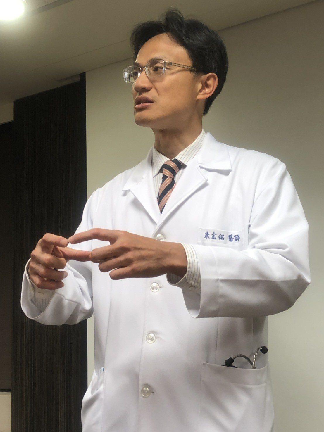 榮新診所主任康宏銘表示,自律神經整體活性愈高,中風、心肌梗塞風險會降低。記者劉嘉...