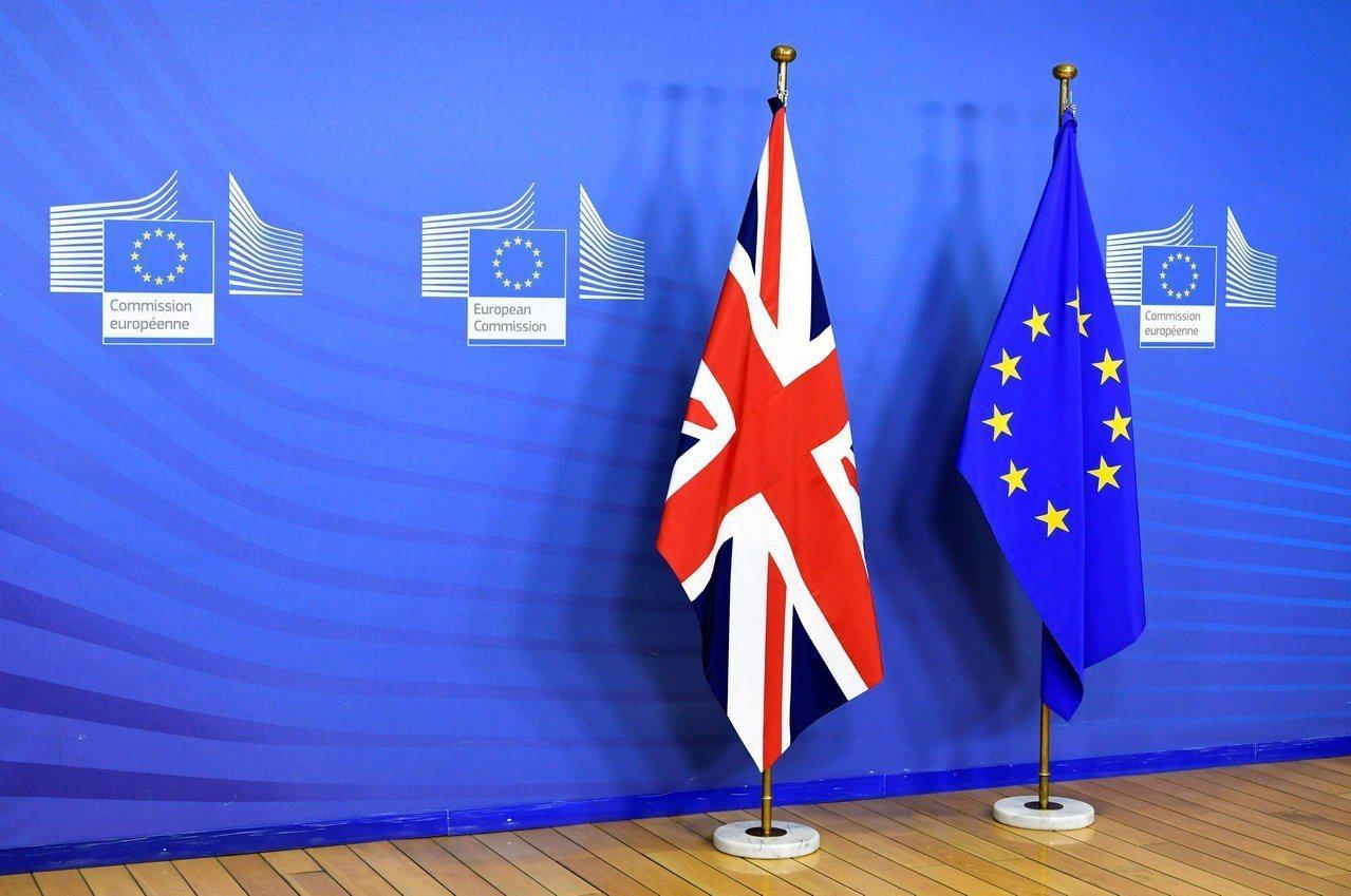 傳英國遭中國大陸網攻,歐盟國家正考慮採取聯合行動因應。圖為布魯塞爾歐盟委員會的英...