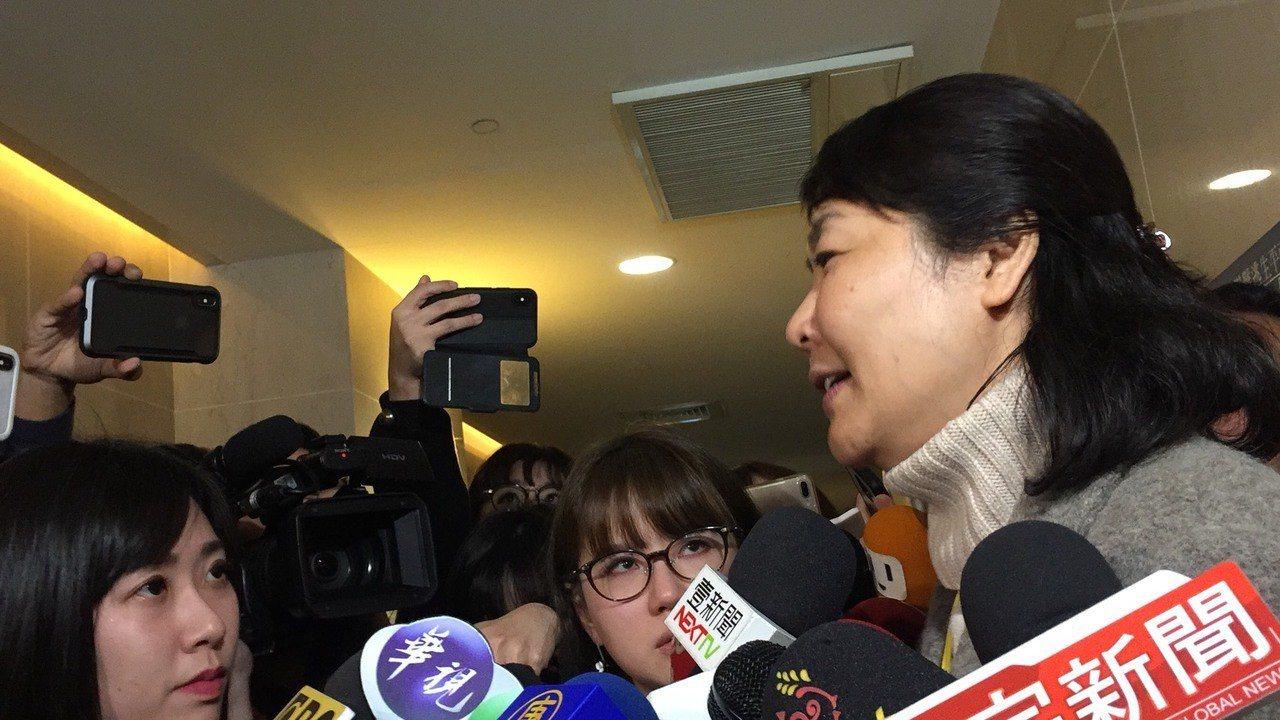 桃園市機師職業工會常務理事陳蓓蓓。記者洪安怡/攝影