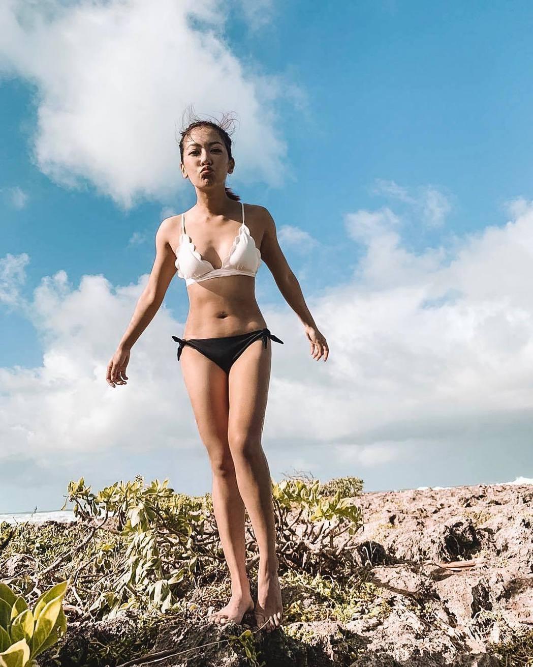 何雁詩不甩外界謠言,赴夏威夷度假。圖/摘自IG