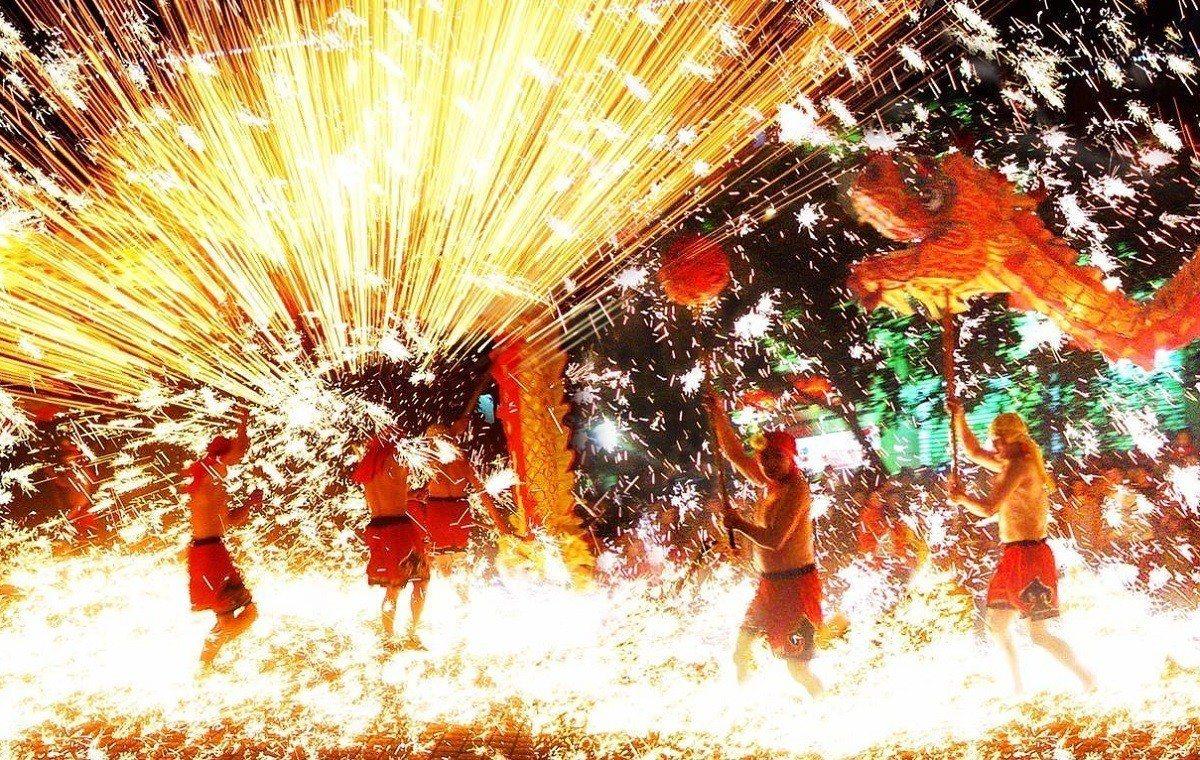 重慶銅梁火龍將在元宵節前後登場,為南投燈會帶來精彩的視覺體驗。圖/南投縣政府提供