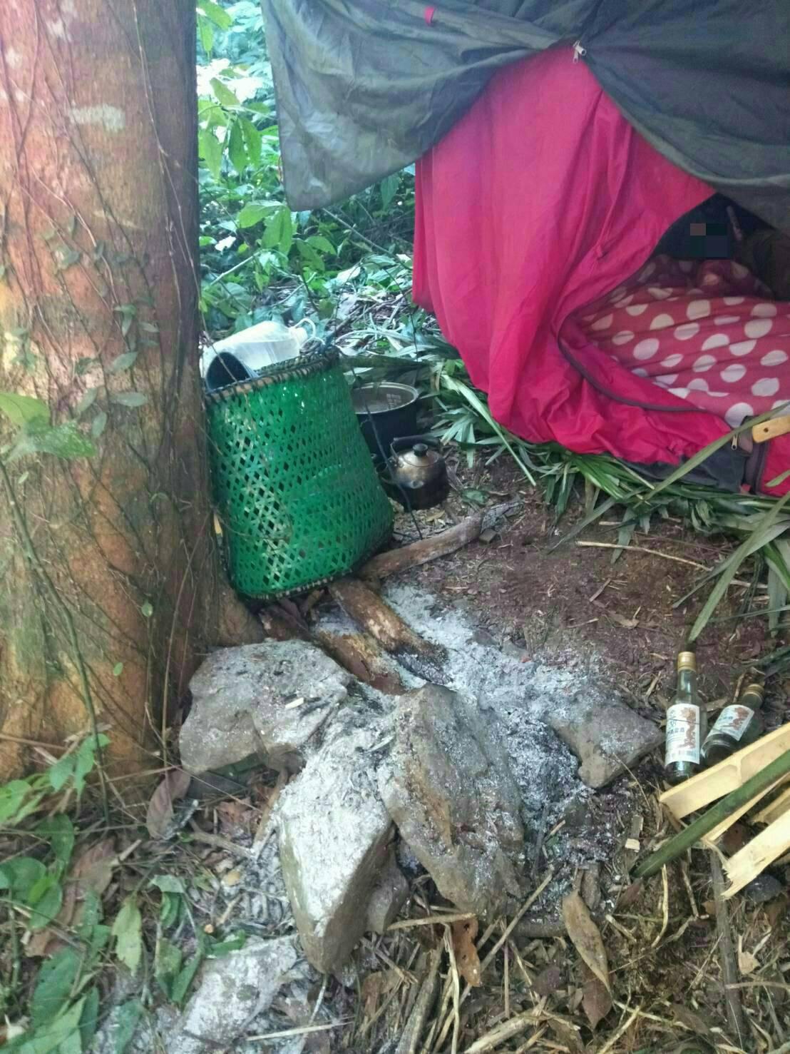 桃園市復興區一名64歲陳姓獵人,8日獨自上山打獵,僅帶簡易鍋具、微薄食物上山,疑...