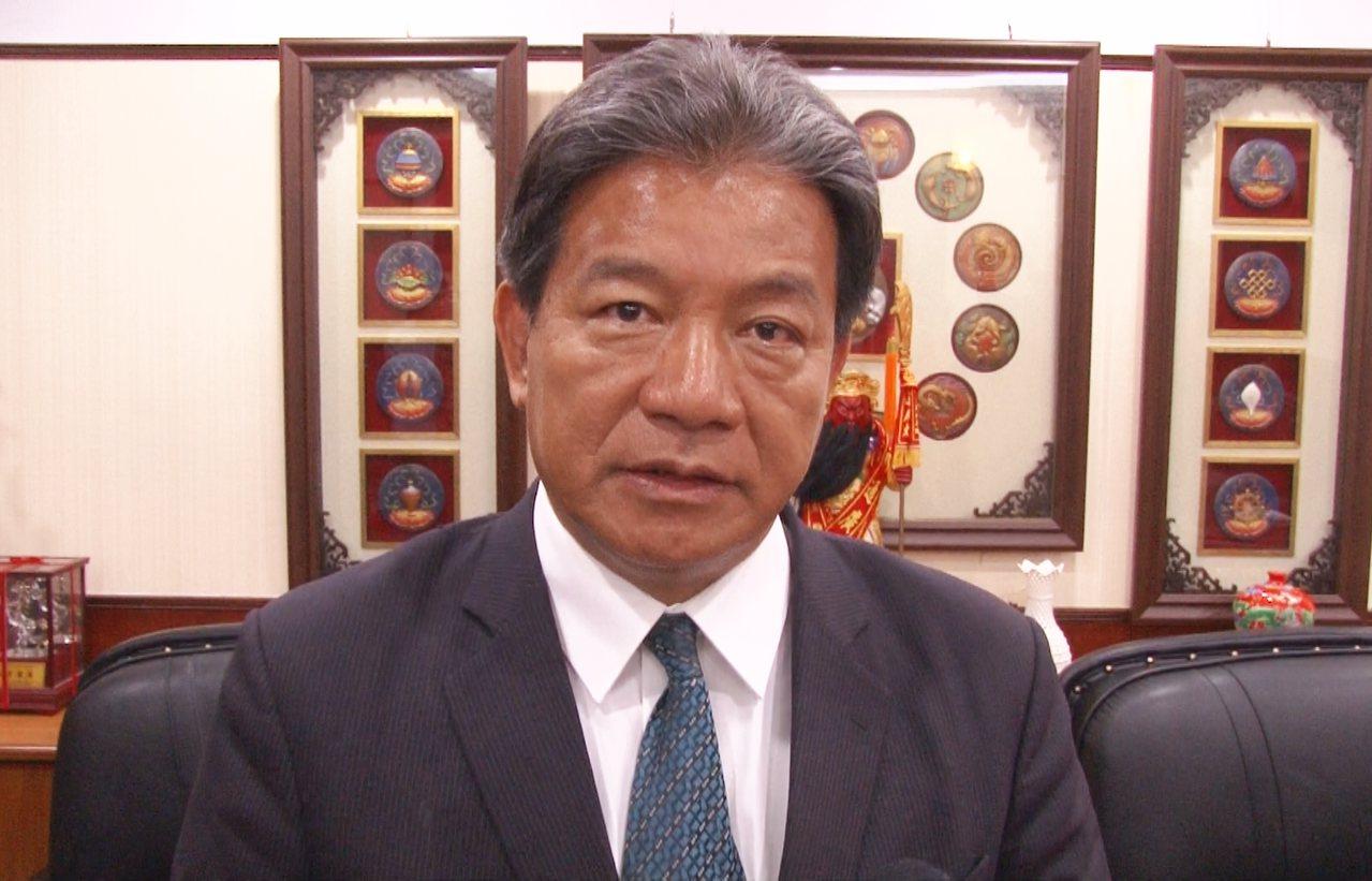 台南市議長郭信良。記者鄭維真/攝影