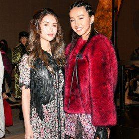 紐約時裝周/木村光希和昆凌高顏值同框 身高差萌萌噠