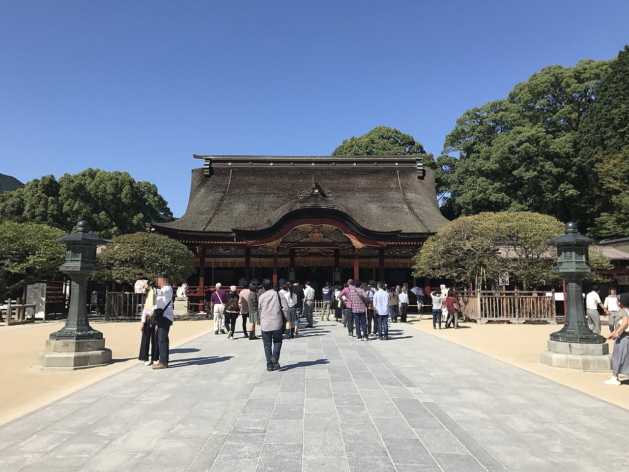 太宰府天滿宮被CNN列為福岡的特色景點之一。圖/取自維基百科