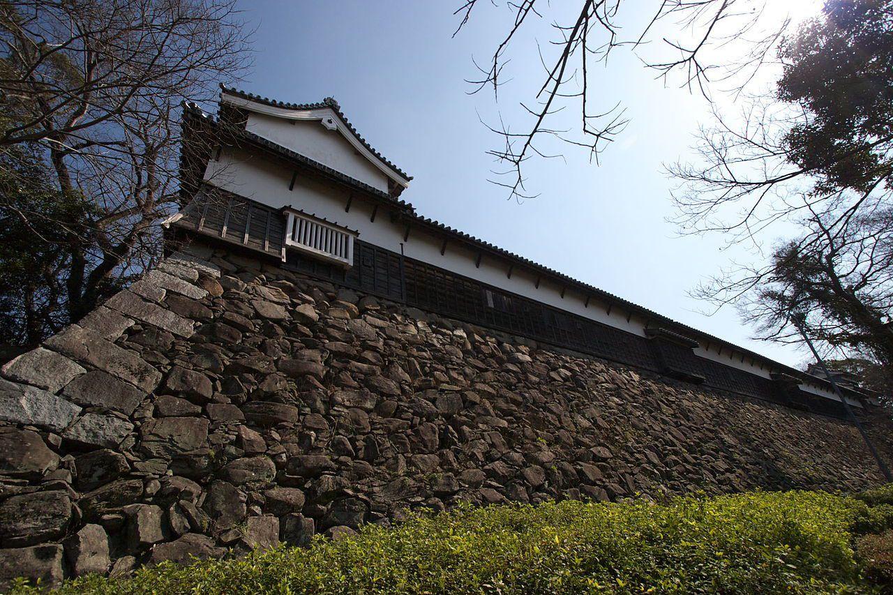 已經有數百年歷史的福岡城。圖/取自維基百科
