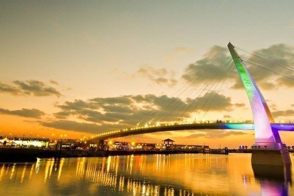 浪漫的淡水漁人碼頭也傳出讓戀人分手的傳聞。圖/摘自新北旅客粉絲專頁