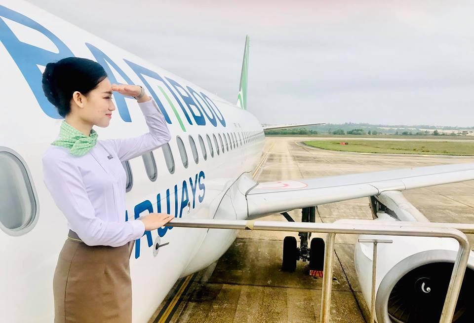營運初期以往返胡志明市、河內、富國島、峴港等城市為主。圖/摘自越南竹子航空粉絲專...