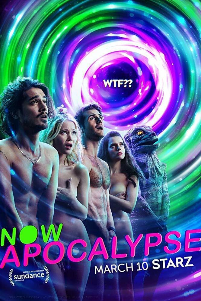 「Now Apocalypse」光海報看來就頗煽情。圖/摘自imdb