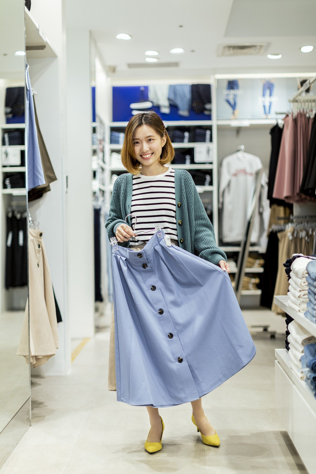 GU今年強化台灣布局,將在台中開出海外首家路面店,同樣也會導入時尚顧問服務。圖/...