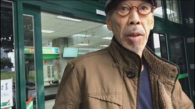 馮淬帆長居台灣30年,被說是香港人很不以為然。記者葉君遠/攝影