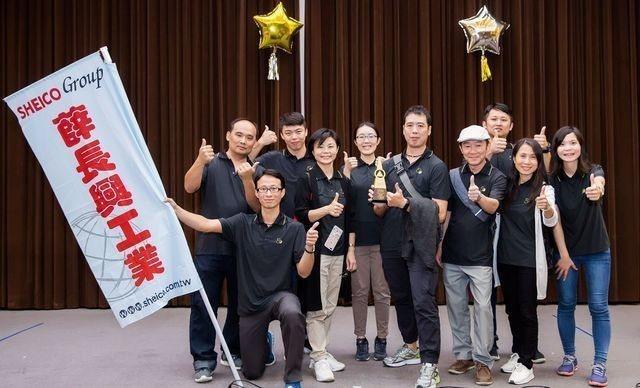 第31屆全國團結圈競賽金塔獎、薛長興工業「橡皮圈」全體圈員。 中衛/提供